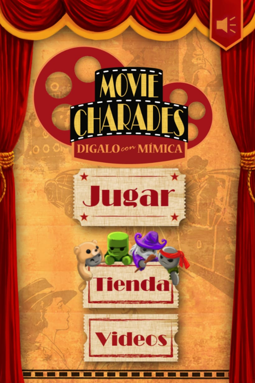 Movie Charades (App para Iphone) -1
