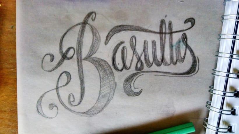 Hand lettering branding 1