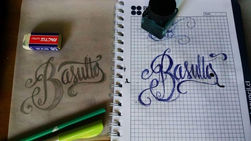 Hand lettering branding 0