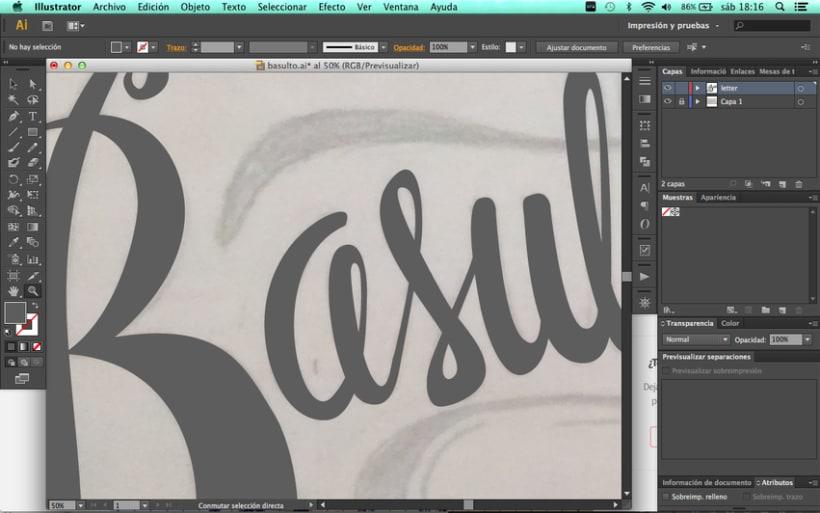 Hand lettering branding 3