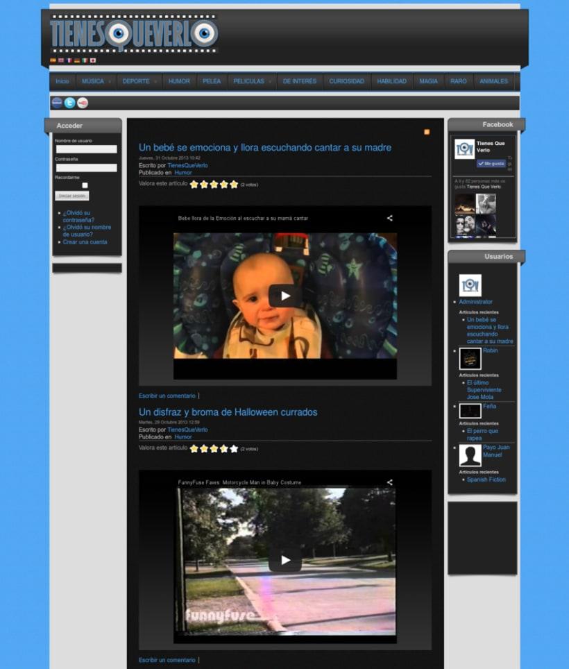 Tienes Que Verlo Web Multimedia 0