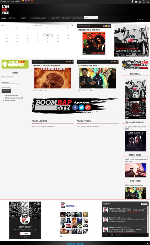 Boom Bap City Cultura Hip Hop 0