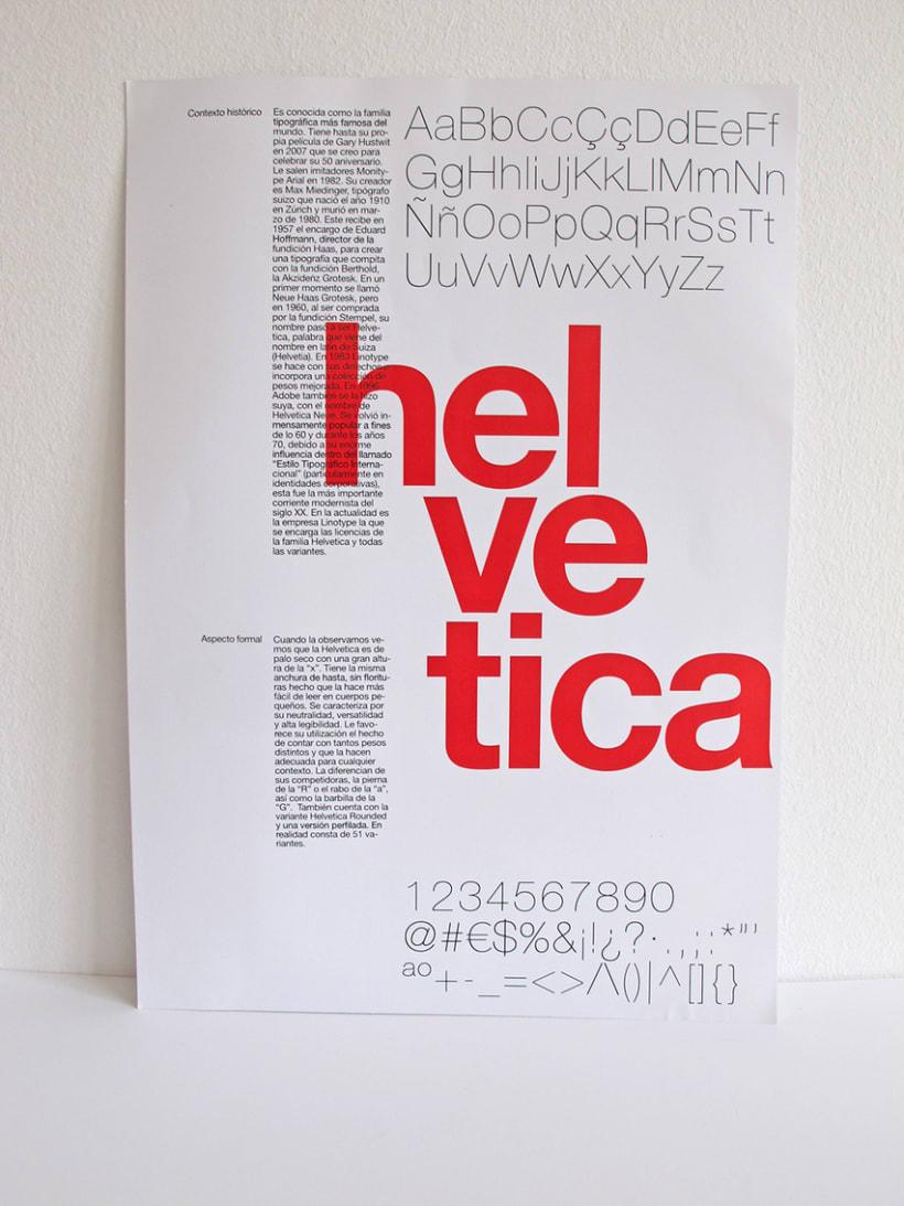 I love Helvetica -1