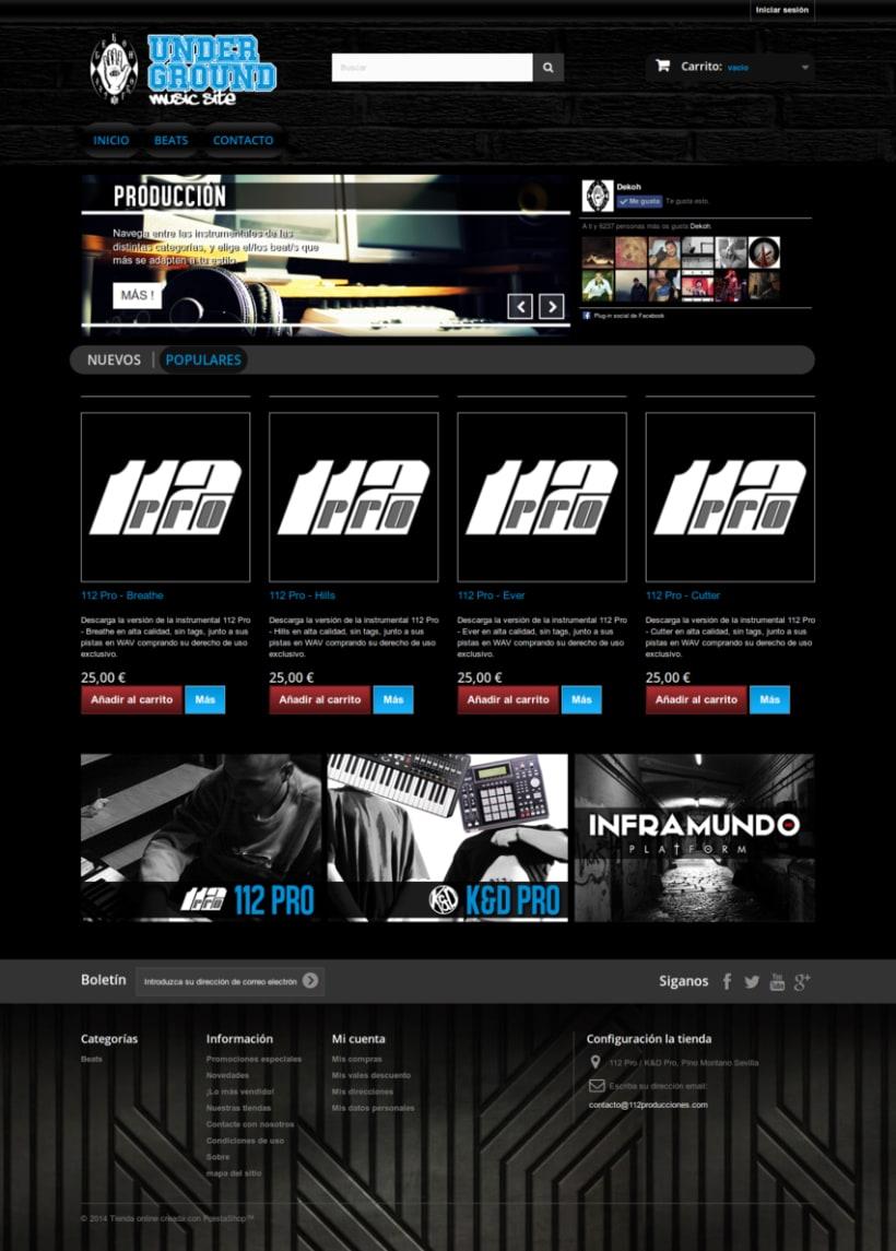 112 Pro - Producción, mezcla y masterización de Audio (Tienda digital Online) 0