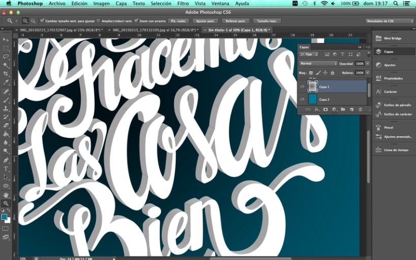 Poster and clothing letteringNuevo proyecto 5