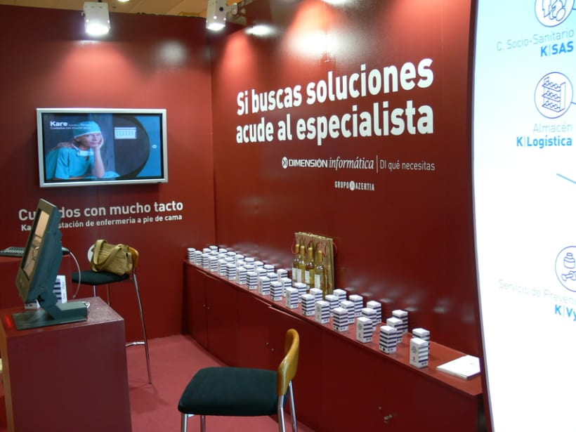 Stand Inforsalud 2005 y 2006 3