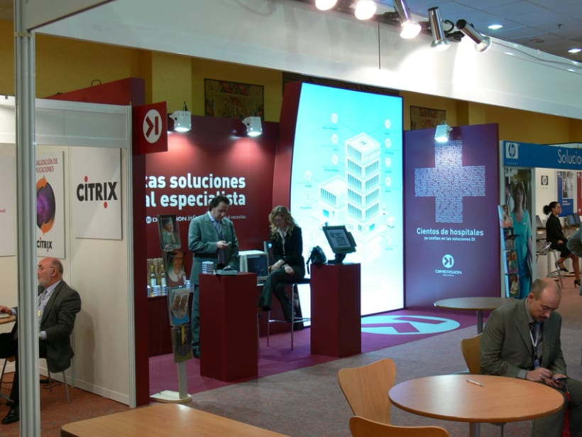 Stand Inforsalud 2005 y 2006 4