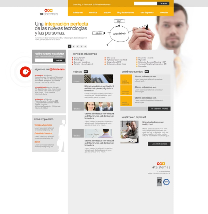 Desarrollo template Wordpress -1