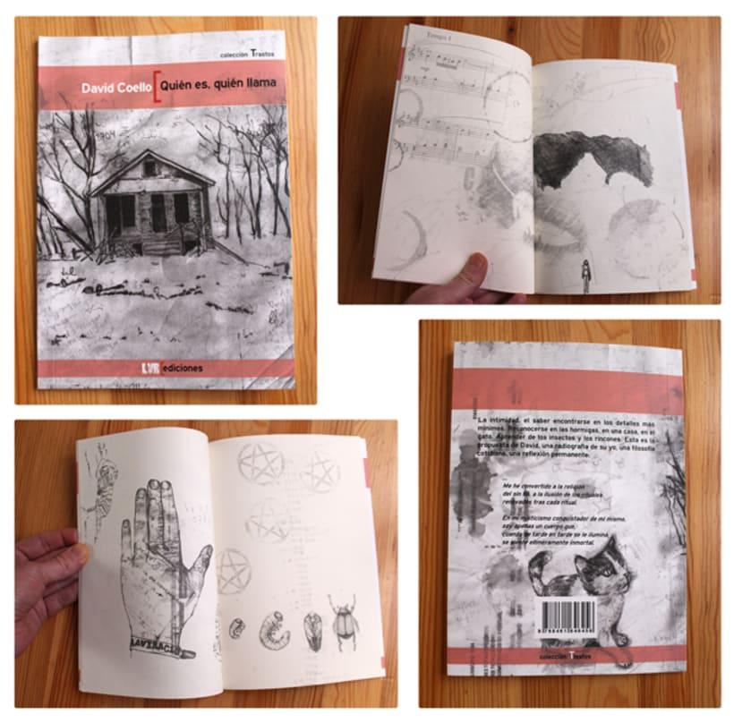 """Ilustraciones para """"Quién es, quién llama"""" de David Coello 3"""