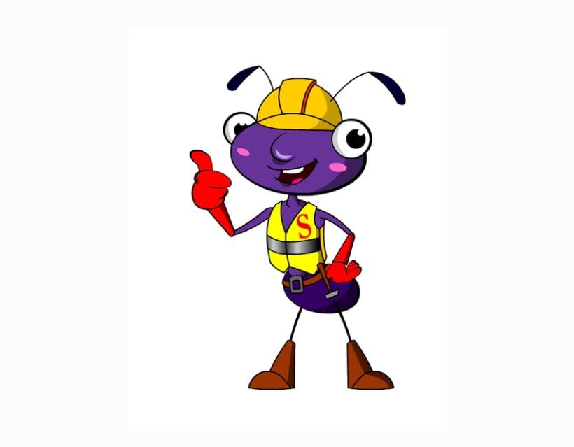 Mascota publicitaria Hormigón 0
