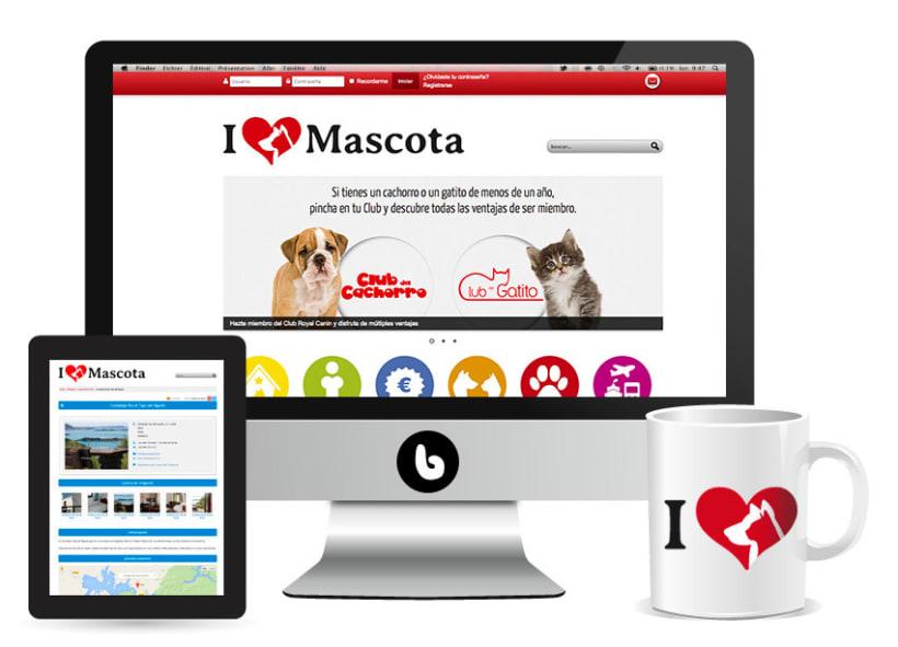 Lovemascota.com - Diseño de imagen corporativa y portal web 0