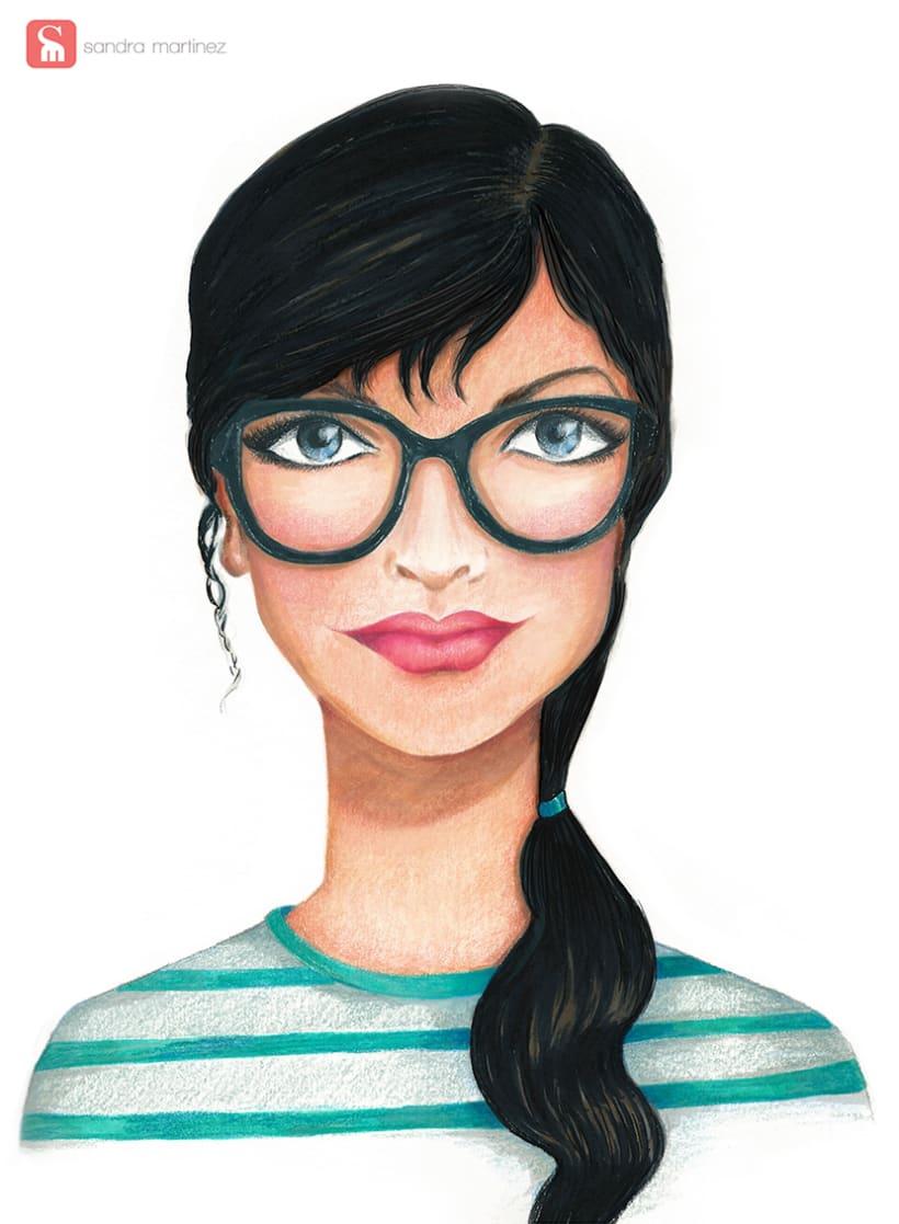 Chica con gafas -1