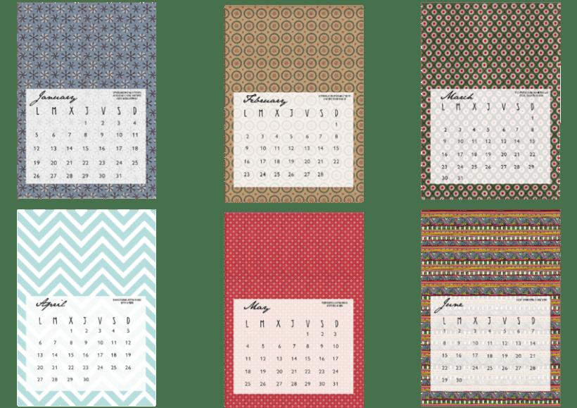 calendario para Ella 1