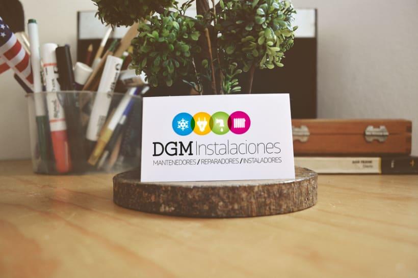 Logo DGM -1