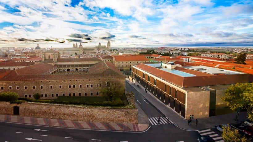 Edificio Multiusos I+D+I de la USAL. C/ Espejo, Salamanca. 0