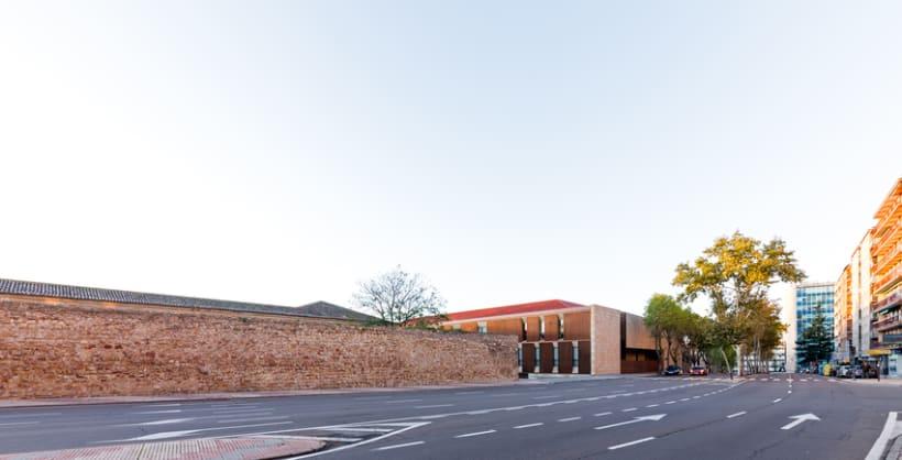 Edificio Multiusos I+D+I de la USAL. C/ Espejo, Salamanca. 1
