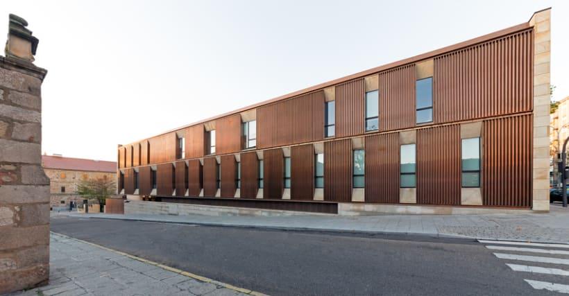 Edificio Multiusos I+D+I de la USAL. C/ Espejo, Salamanca. 2