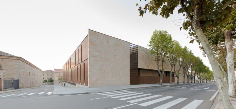 Edificio Multiusos I+D+I de la USAL. C/ Espejo, Salamanca. 3