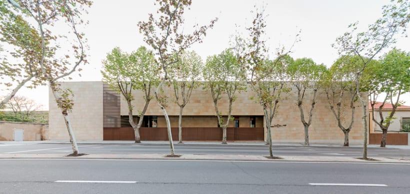 Edificio Multiusos I+D+I de la USAL. C/ Espejo, Salamanca. 4