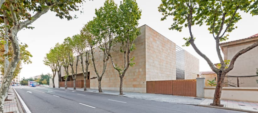 Edificio Multiusos I+D+I de la USAL. C/ Espejo, Salamanca. 5
