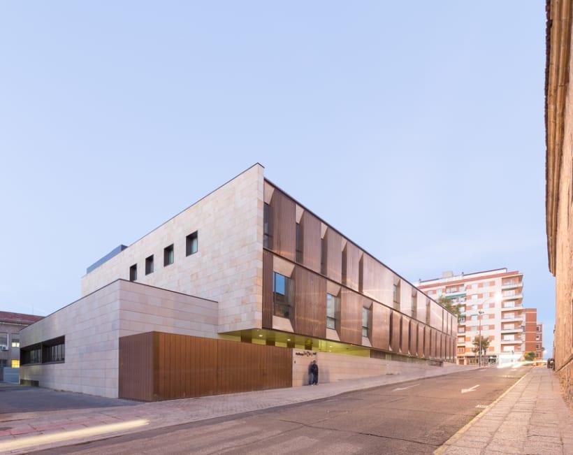 Edificio Multiusos I+D+I de la USAL. C/ Espejo, Salamanca. 8