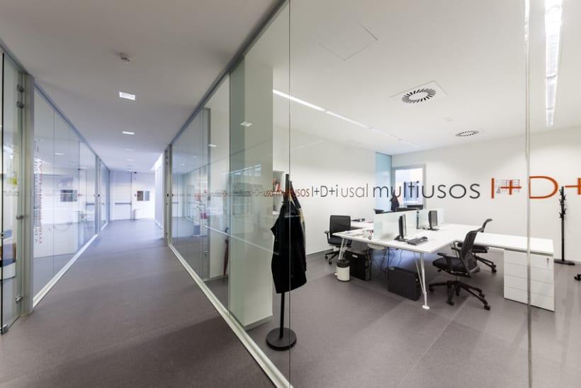 Edificio Multiusos I+D+I de la USAL. C/ Espejo, Salamanca. 17