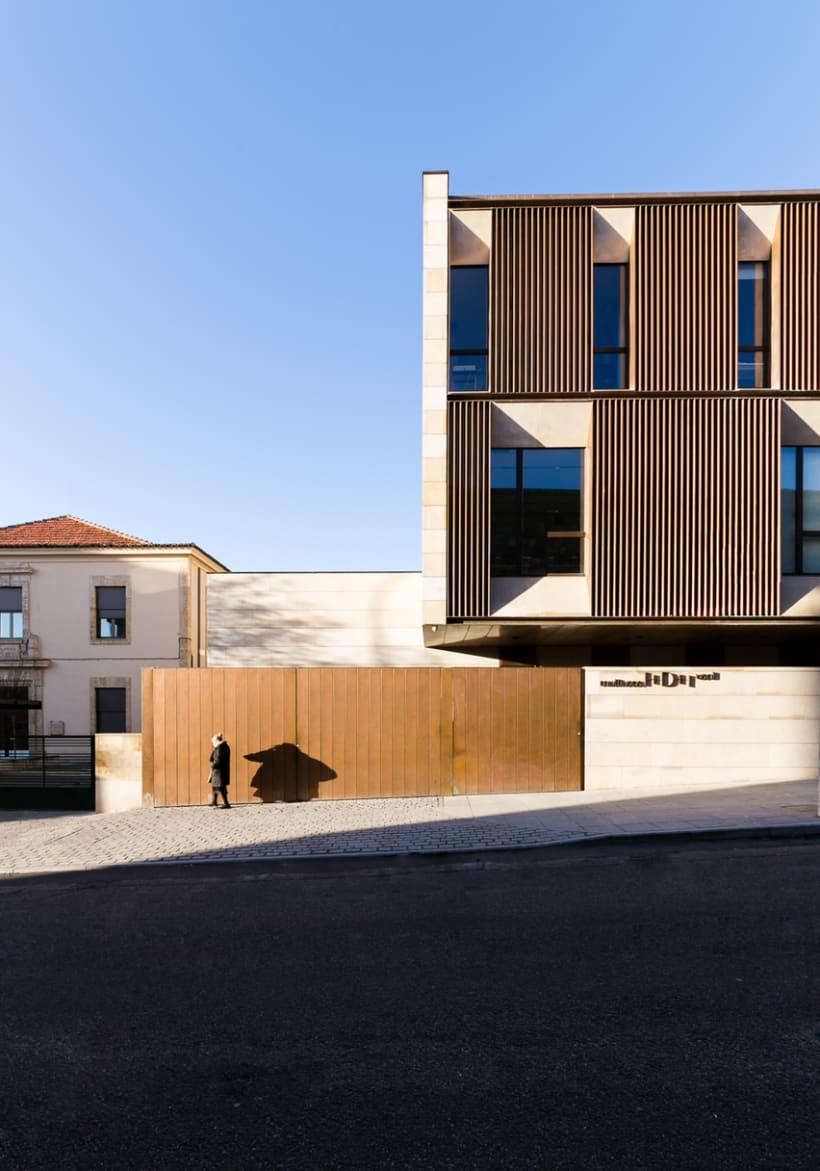 Edificio Multiusos I+D+I de la USAL. C/ Espejo, Salamanca. 18