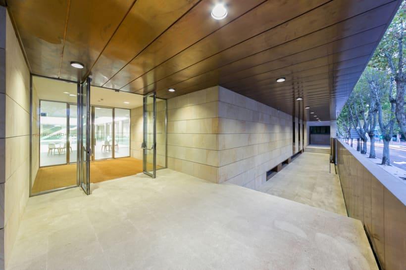 Edificio Multiusos I+D+I de la USAL. C/ Espejo, Salamanca. 11