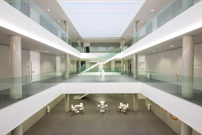 Edificio Multiusos I+D+I de la USAL. C/ Espejo, Salamanca. 12