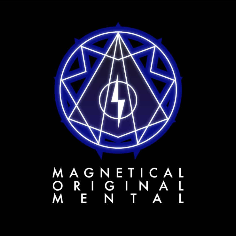 Magnetical Original Mental Logo 2