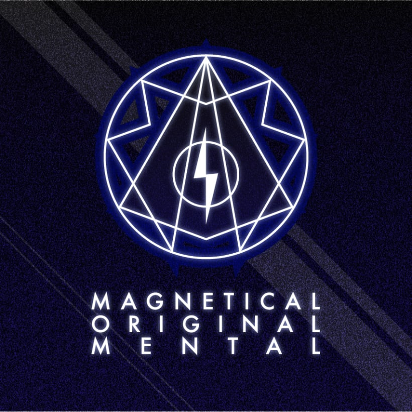 Magnetical Original Mental Logo 4