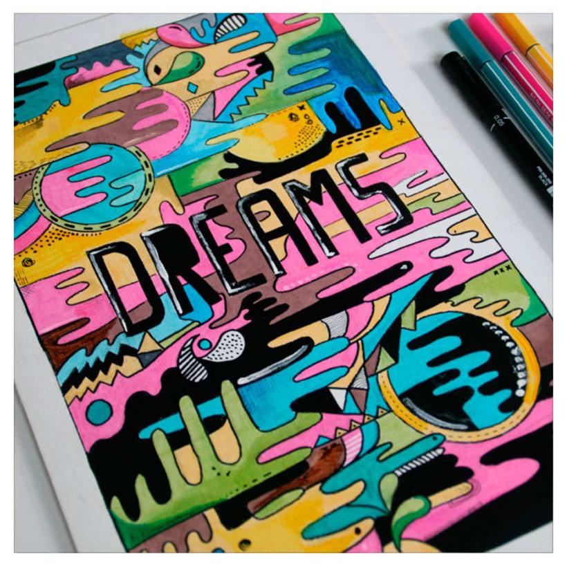Ilustracion Dreams -1