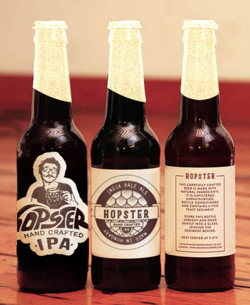 Hopster. Una cerveza para hipsters. 2