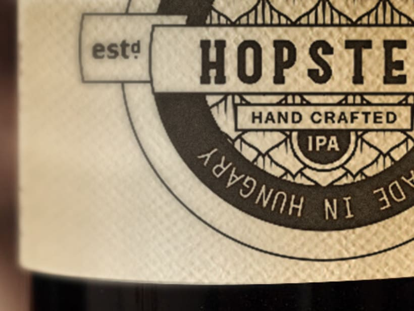 Hopster. Una cerveza para hipsters. 4