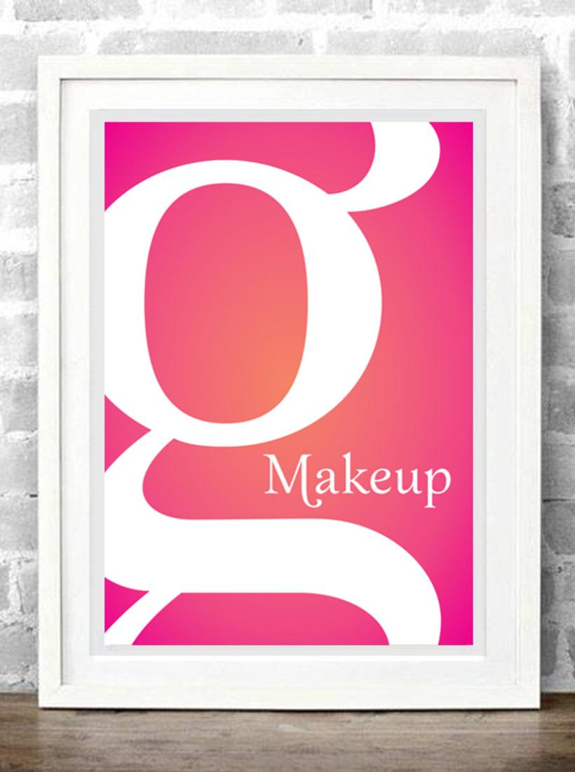 Makeup typeface 2