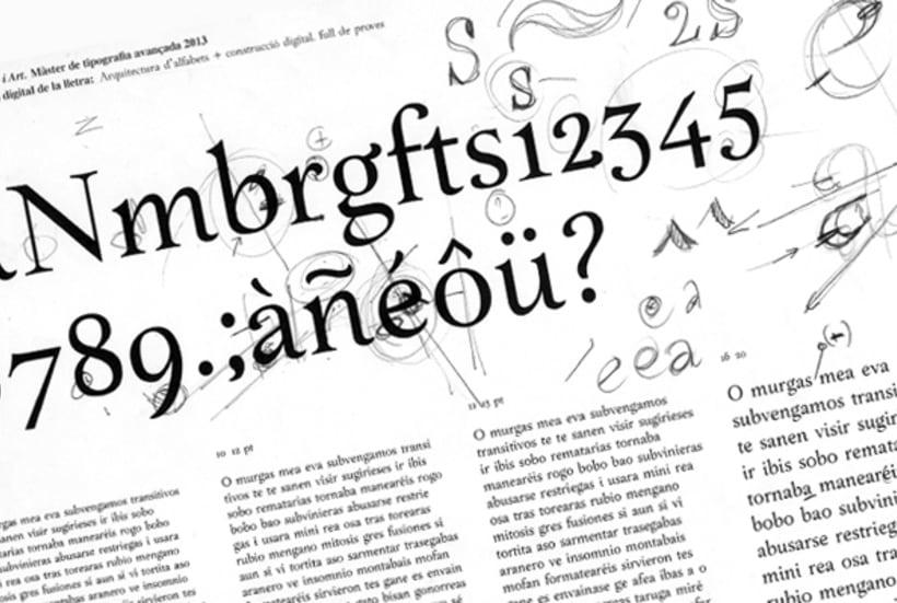 Makeup typeface 5