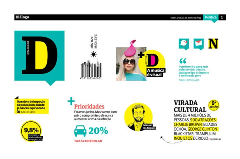 Diálogo newspaper and Macarronada Magazine -1