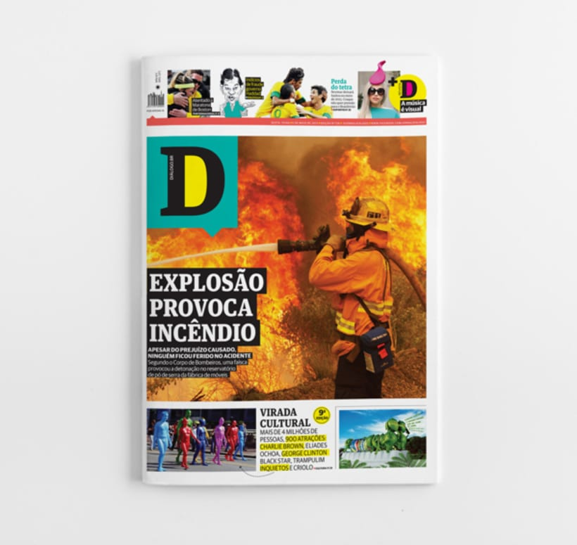 Diálogo newspaper and Macarronada Magazine 0
