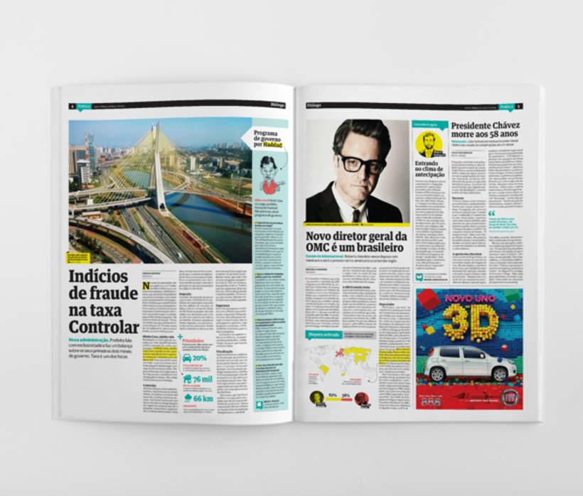 Diálogo newspaper and Macarronada Magazine 1