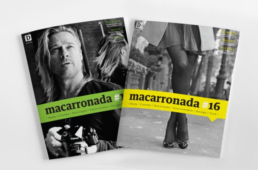 Diálogo newspaper and Macarronada Magazine 3
