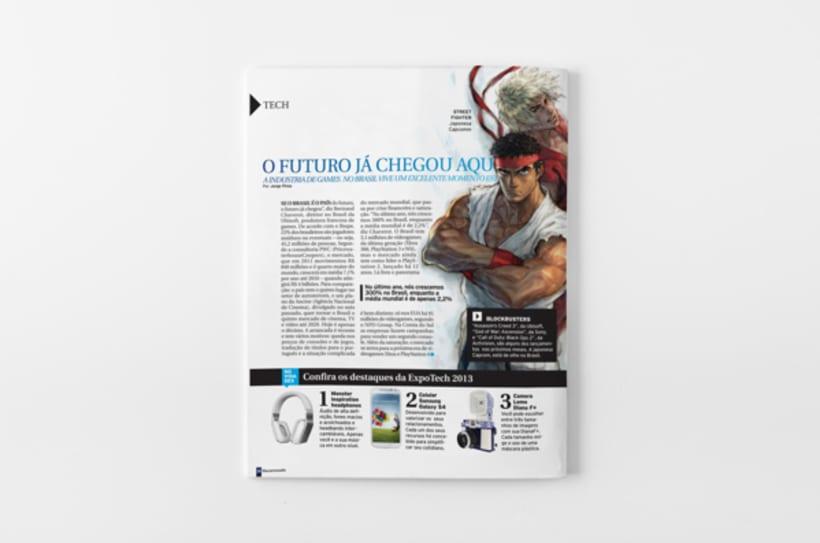 Diálogo newspaper and Macarronada Magazine 7