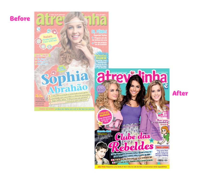 Atrevidinha magazine 0