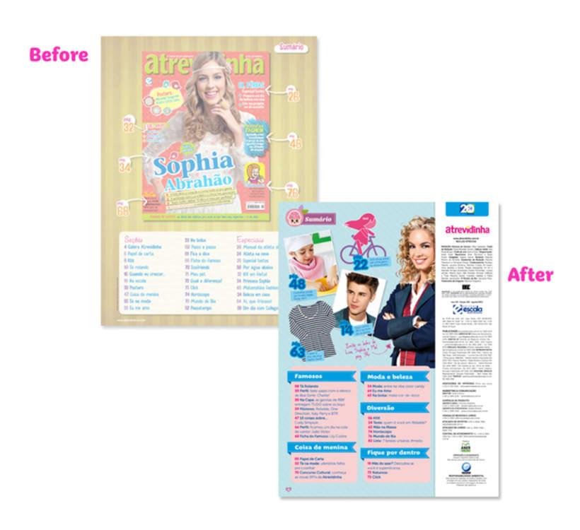 Atrevidinha magazine 1