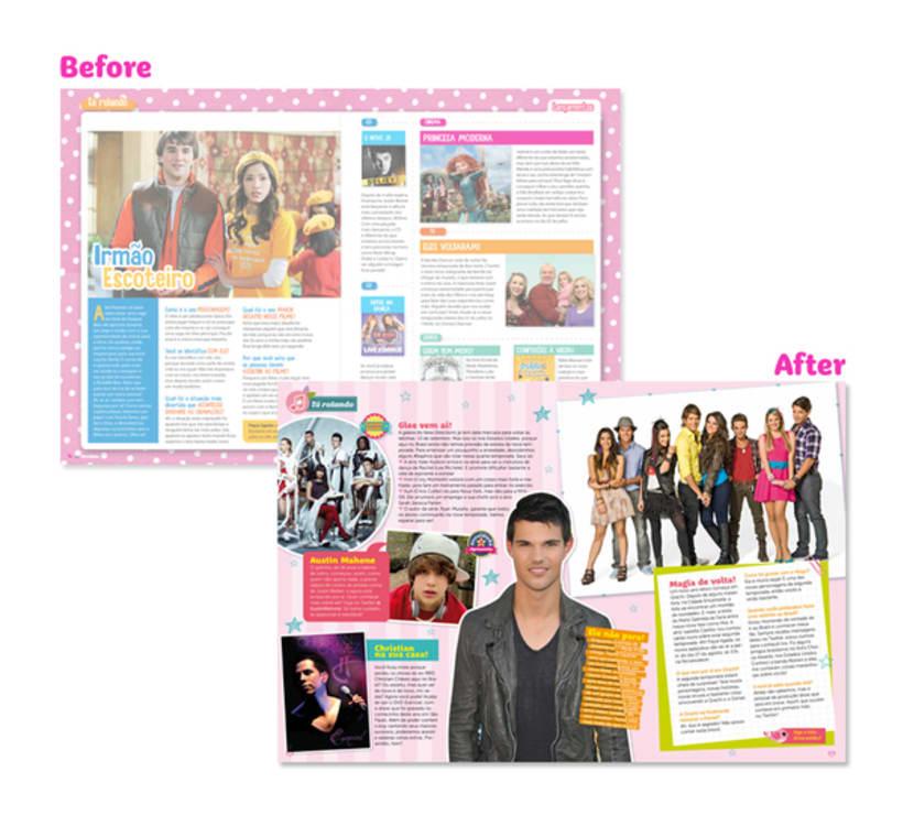 Atrevidinha magazine 4