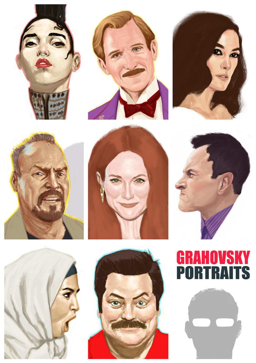 Retratos Febrero 1
