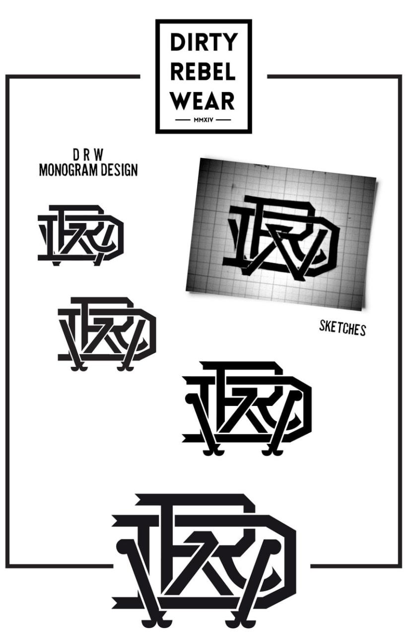DRW Monogram 0