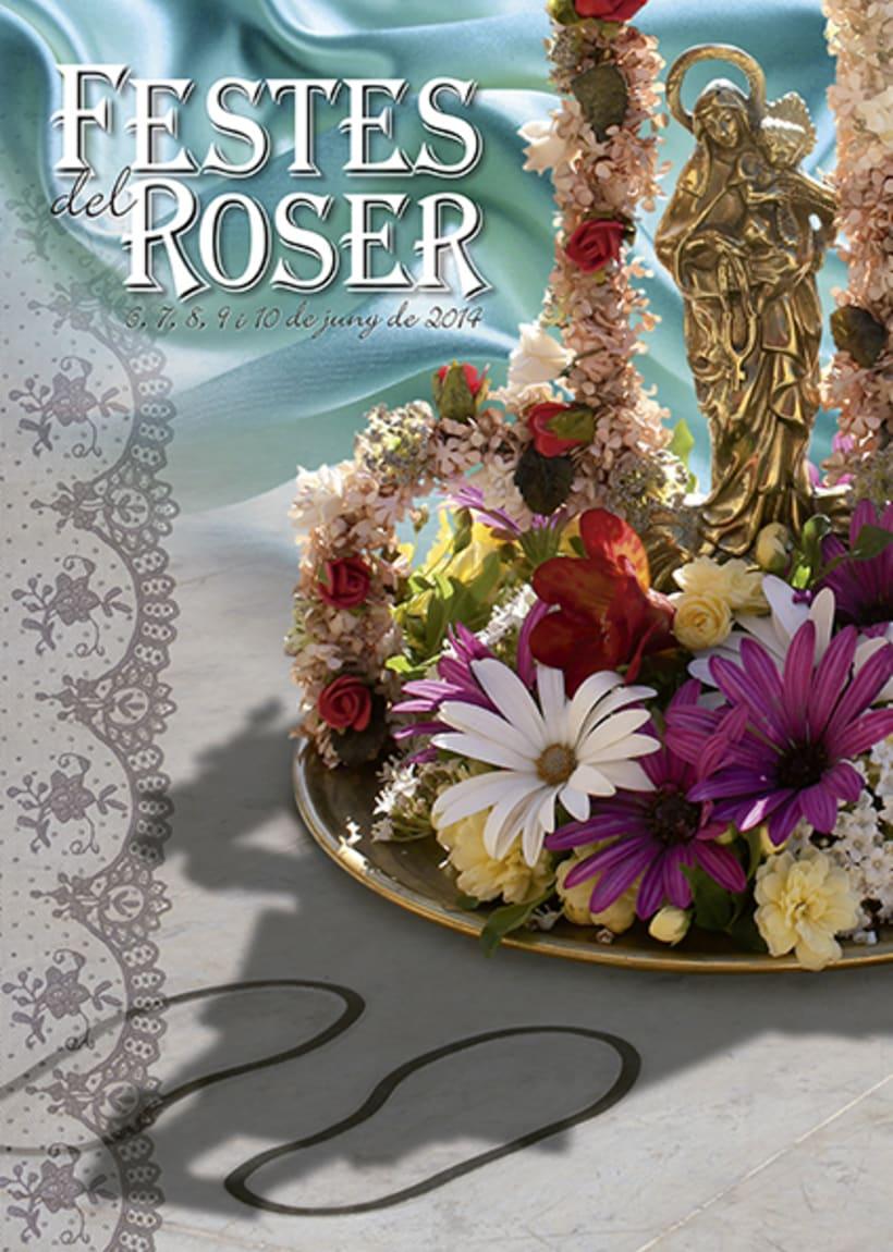 Cartel Festes del Roser 2014 -1