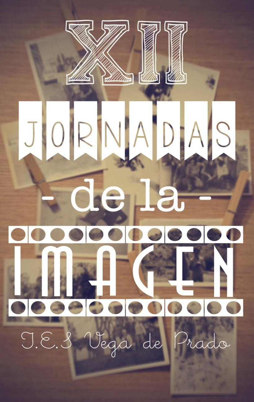 CARTEL JORNADAS I.E.S VEGA DE PRADO 1