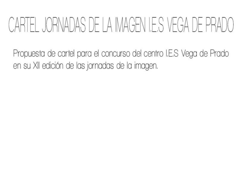 CARTEL JORNADAS I.E.S VEGA DE PRADO 0