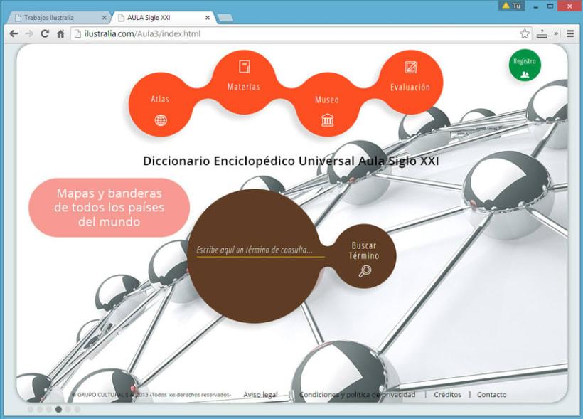 Diseño de Enciclopedia Online Estudiantil 4
